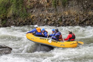 Wet Planet Guide Giani Rafting the Hood River