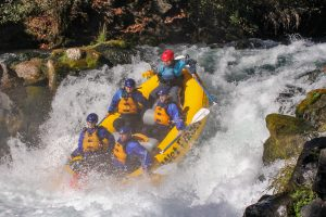 Jeremy Bisson, Wet Planet Whitewater guide rafting Husum Falls
