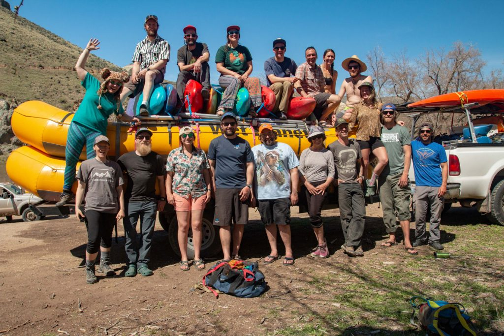2019 Wet Planet Whitewater Staff Raftin Trip Owyhee River