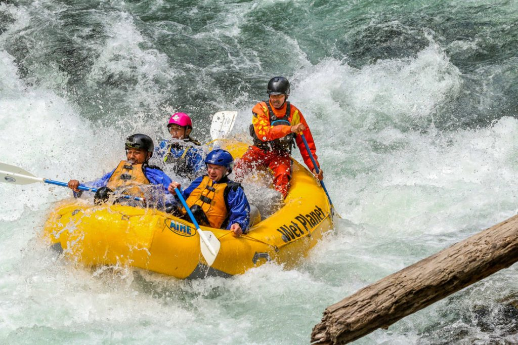 Wet Planet Class V Wind River Rafting Washington