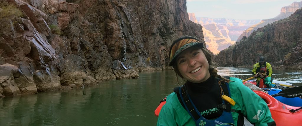 Nicole (Nicky) Dickey Wet Planet Raft Guide