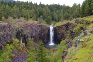 Rattlesnake falls husum, washington