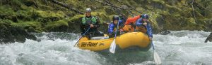 Class V Wind River Rafting