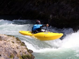 Wet Planet Whitewater Kayaking Boofing Clinic