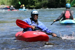 Learning to Whitewater Kayak