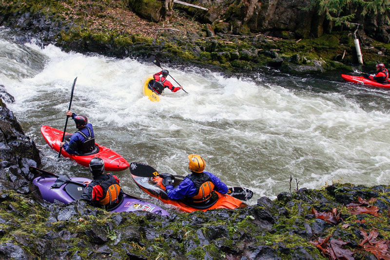 Intermediate Whitewater Kayaking Course