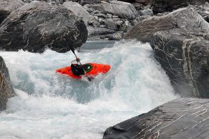Kayaking the Perth River New Zealand