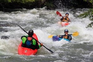Whitewater Kayaking Course