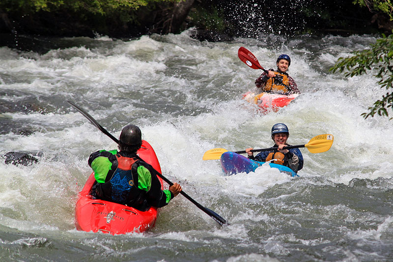 Beginner Whitewater Kayaking Course