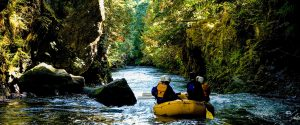 River Rafting near Portland