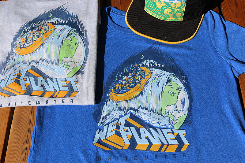 Wet Planet White water rafting shirts online store