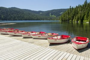Boat Rentals at Lost Lake, a Columbia River Gorge Campground