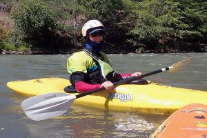 raft guide and kayak instructor