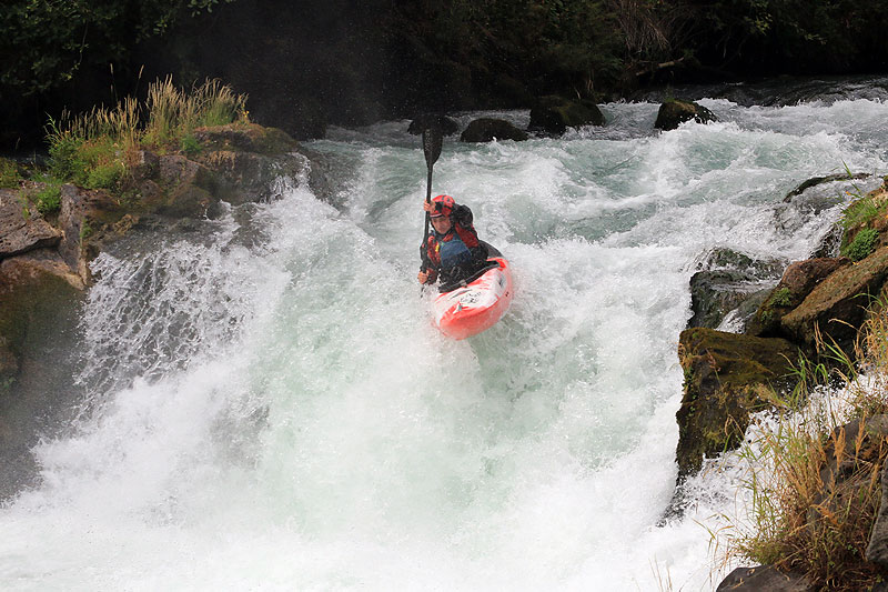 kayaking Husum Falls