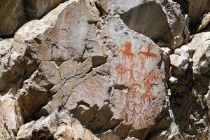 pictographs on the Main Salmon River